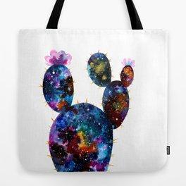 Galactic Cactus Tote Bag