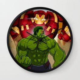 Hulk vs. Hulkbuster Wall Clock