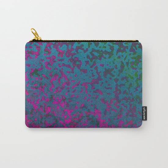 Colorful Corroded Background G296 Carry-All Pouch