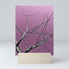 Reaching Violet Mini Art Print
