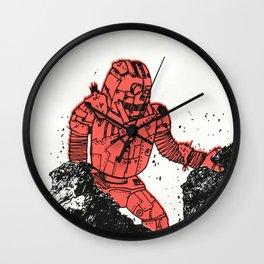robot showbot Wall Clock