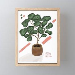 Felonius Fig Framed Mini Art Print