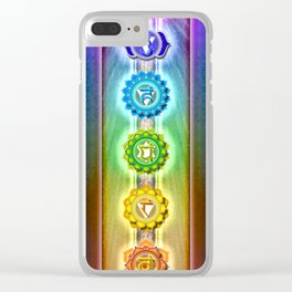 The Seven Chakras - Series I Clear iPhone Case