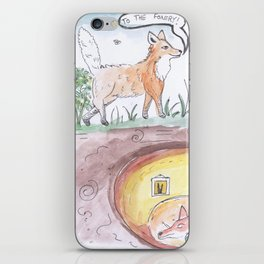 The Foxery iPhone Skin
