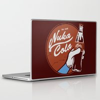fallout Laptop & iPad Skins featuring Nuka Cola Fallout drink by Krakenspirit