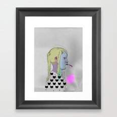 side 2 Framed Art Print