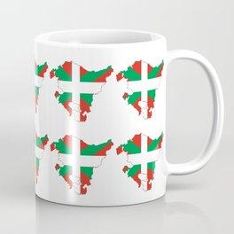 Flag of Euskal Herria 2 -Basque,Pays basque,Vasconia,pais vasco,Bayonne,Dax,Navarre,Bilbao,Pelote Coffee Mug