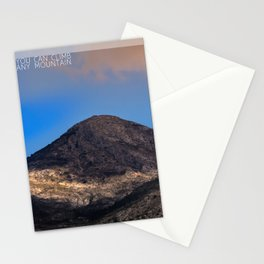 You Can Climb Any Mountain Stationery Cards