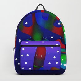 Cactus Rainbow 03 Backpack