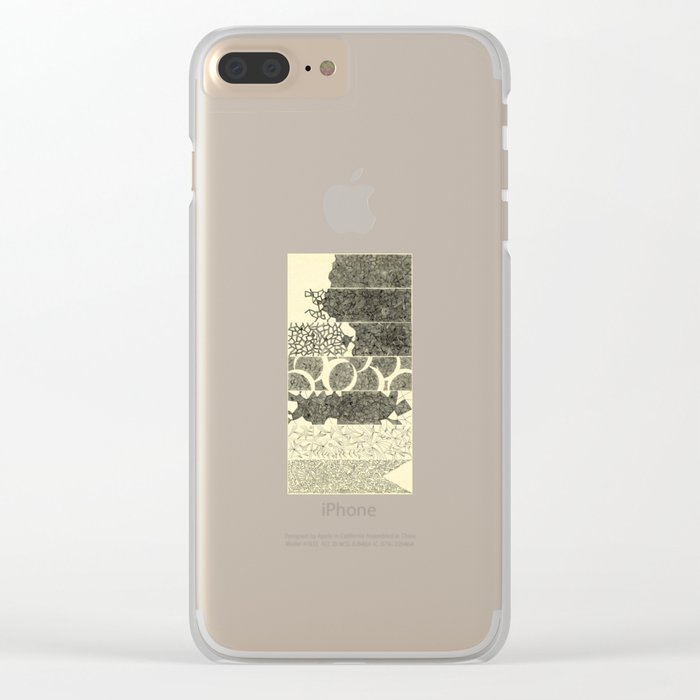 - 7_DoF - Clear iPhone Case