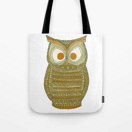 Dermot Owl Tote Bag
