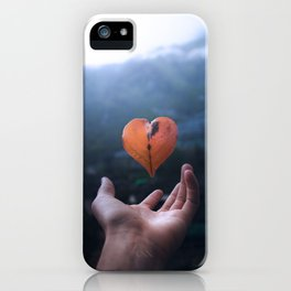 The Heart of Nature iPhone Case