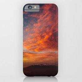 Colorful Maui Sunset iPhone Case