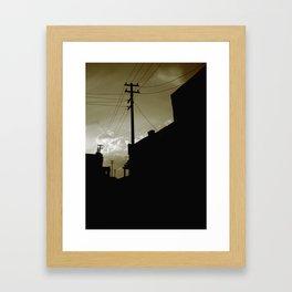 dust city Framed Art Print