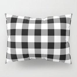 Gingham (Black/White) Pillow Sham
