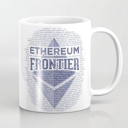 Ethereum Frontier Grunge original Coffee Mug