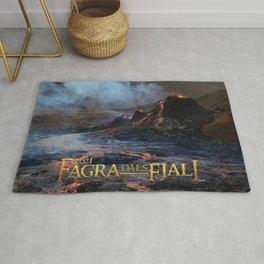 Fagradalsfjall - Iceland Eruption 2021 Rug