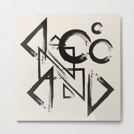 abstract drawing Metal Print