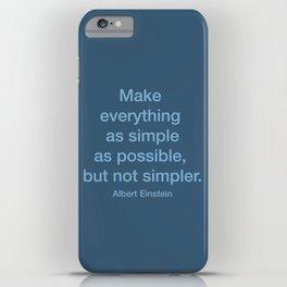 Simpler iPhone Case