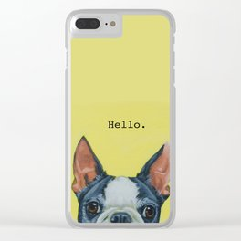 Hello. Clear iPhone Case