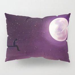 Jimin Serendipity Talking to the Moon Purple Version Pillow Sham