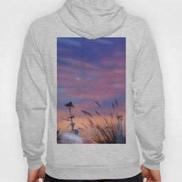 LOOK OUTSIDE - Flowers & Sunset #1 #art #society6 Hoody