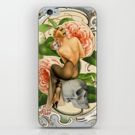 Death and the Maiden iPhone Skin
