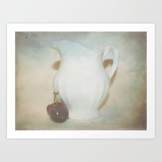 Too Much In Love To See Art Print