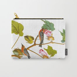 Bay-breasted Warbler Bird Carry-All Pouch