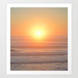 Northern Califoria Sunset Art Print