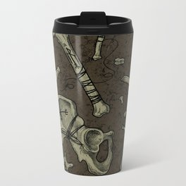 Dem Bones Metal Travel Mug