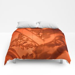 Heart Shadows Comforters