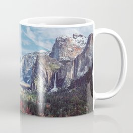 Tunnel View Yosemite Valley Coffee Mug