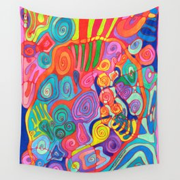 Jungle Nights Wall Tapestry