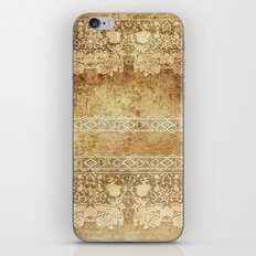 Vintage. The old lace. Vintage fabric . iPhone & iPod Skin