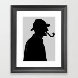 The Question Framed Art Print
