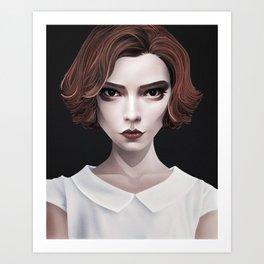 Beth Art Print