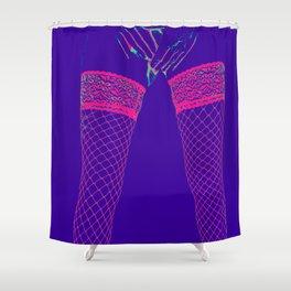 Lovers Legs (purple) Shower Curtain