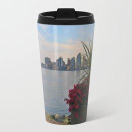 Skyline of Halifax, Nova Scotia Travel Mug
