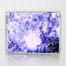 Blue trees Laptop & iPad Skin