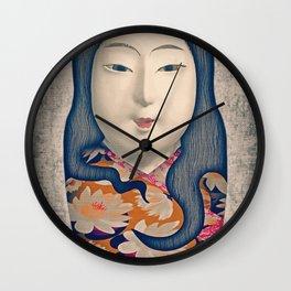 Matrioska japonesa Wall Clock