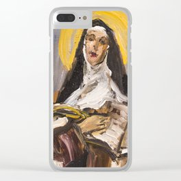 The Ecstasy I. (Teresa of Jesus) Clear iPhone Case