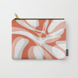 Coral Wave Carry-All Pouch