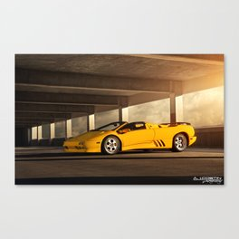 Lamborghini Diablo VT Roadster Canvas Print