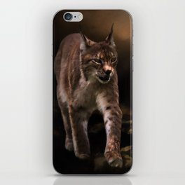 Into The Light - Lynx Art iPhone Skin