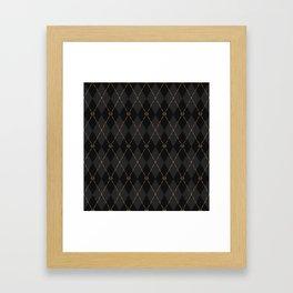 Modern Gentleman's Armour Framed Art Print