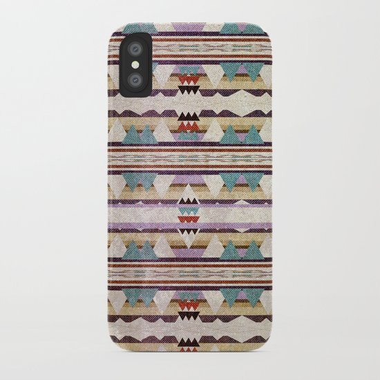 Aztec Mountains iPhone Case
