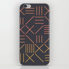 Geometric Shapes 09 Gradient iPhone Skin