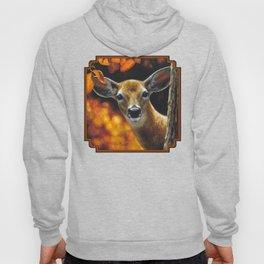 Whitetail Deer Face Hoody
