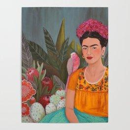 Frida a la casa azul Poster